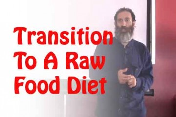 transitino to a raw food diet