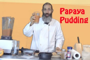 papaya-pudding