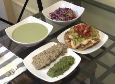 My Mexican Raw Vegan Dinner /with Recipes